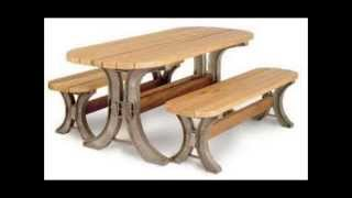 Picnic Table Kit, Sand 2x4basics 90182