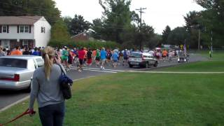 Start of Brian's Run 10K race in Wayne NJ on Sept 26, 2010.MP4