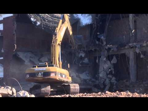 Espy Elementary School Demolition.  Feb 2015