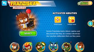 Franziska- Bloons TD 6 fan hero