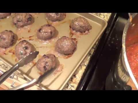 Don's Cook Nook: Homemade Meatballs and Marinara Sauce