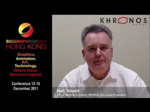 Khronos Group Invitation to SIGGRAPH Asia