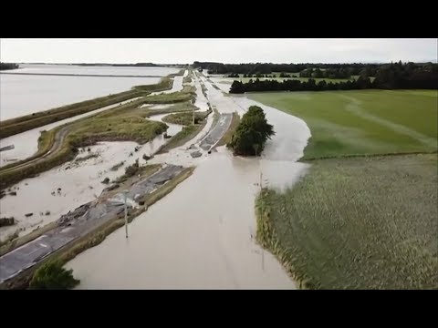 Weather Events 2019 – Tourists trapped after flooding (New Zealand) – BBC – 8th December 2019