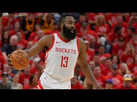 Rockets Go Up 30 1st Half Game 3! Jazz Crowd Silent! 2018 NBA Playoffs
