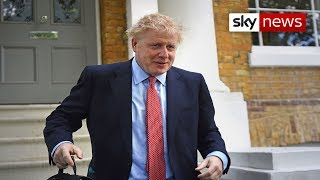 Police called to Boris Johnson's home