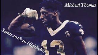 Michael Thomas || Murder on my Mind || 2018- 2019 Highlights