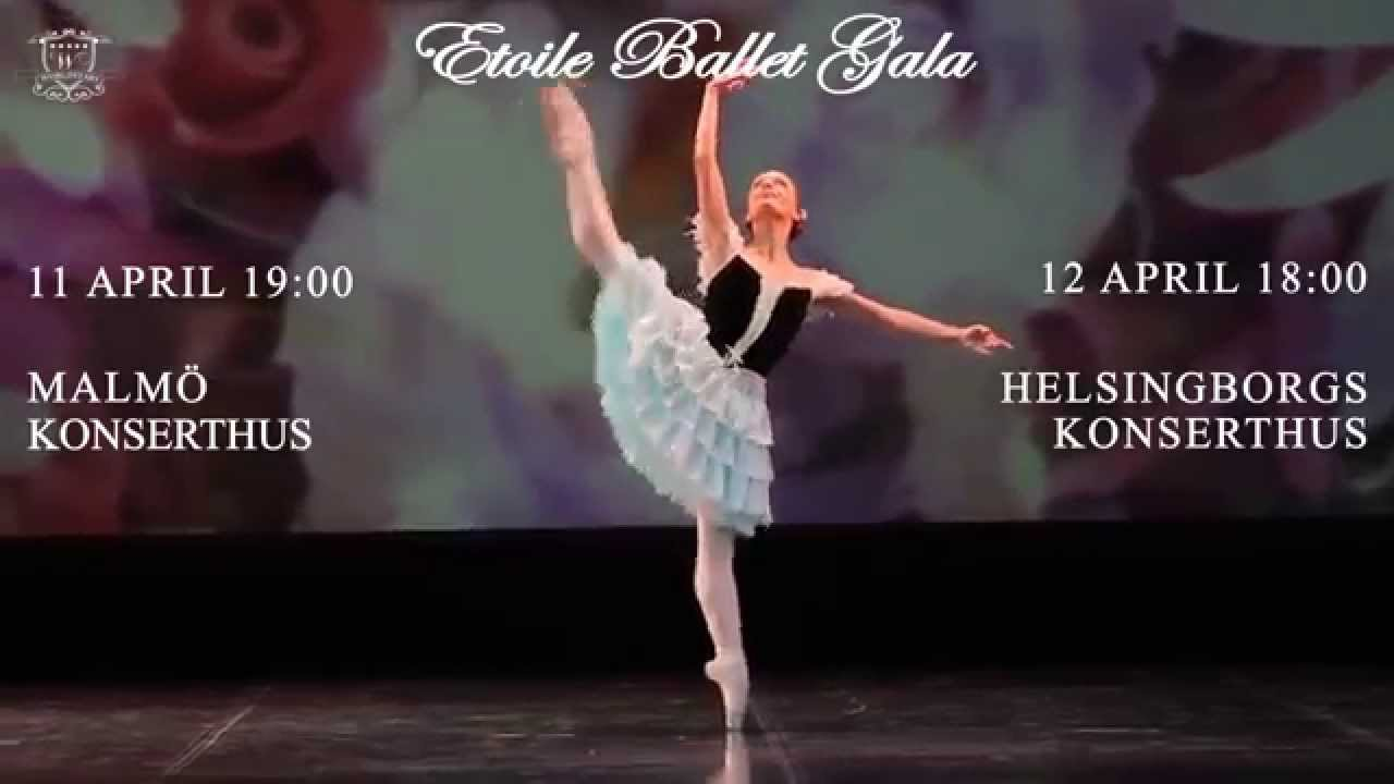 etoile ballet gala in malm and helsingborg 2015 trailer. Black Bedroom Furniture Sets. Home Design Ideas