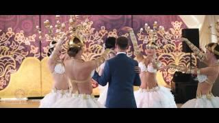 """Свадьба в шатре от свадебного агентства """"Семейные ценности""""."""