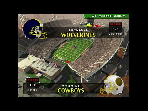 2021 Week 6   #3 Michigan at #1 Wyoming