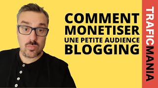 Comment monétiser un petit blog, facilement (et en tirer des revenus)