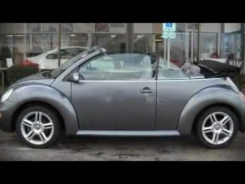 2004 Volkswagen New Beetle GLS Turbo Convertible in Highland Park, IL 60035 - YouTube