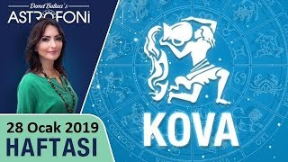 KOVA Burcu 28 Ocak 2019 HAFTALIK Burç Yorumları Astrolog DEMET BALTACI