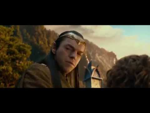 The Hobbit (2012) Extended Edition - Elrond meets Bilbo (HD)