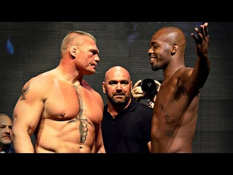 In The Zone - Jon Jones Calls Out Brock Lesnar, I'll embarrass him.