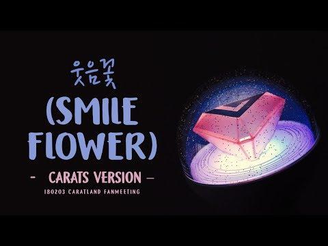 [LYRICS/가사] CARATS (캐럿) - 웃음꽃 (Smile Flower)