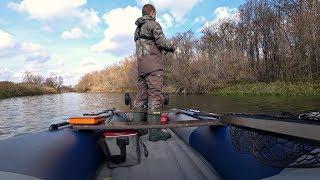 Ловля Щуки в октябре на воблеры. Рыбалка на спиннинг.