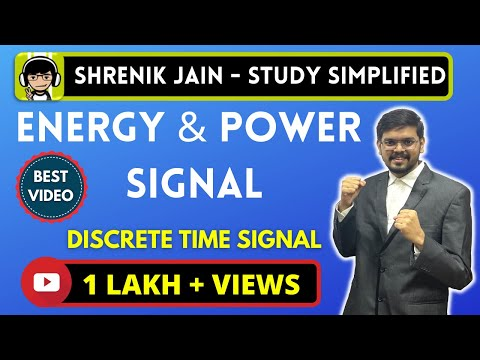 Energy and power signal (DT)- examples,calculation,equation,formula,TRICKS