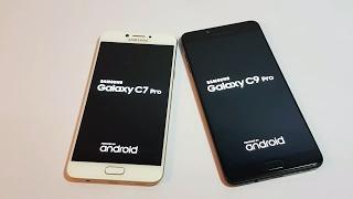 Samsung Galaxy C7 Pro Vs Galaxy C9 Pro Speed Test [Urdu/Hindi]