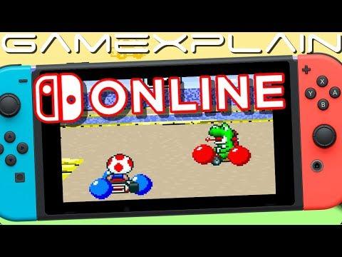 Online Super Mario Kart?! Testing SNES Nintendo Switch Online Multiplayer!
