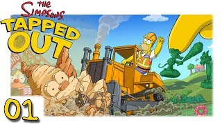 TSTO - Simpsons - Springfield - Tapped out - Itchy & Scratch Land #01 [Let's Play HD Deutsch]