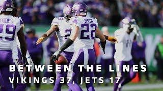 Between The Lines: Minnesota Vikings 37, New York Jets 17