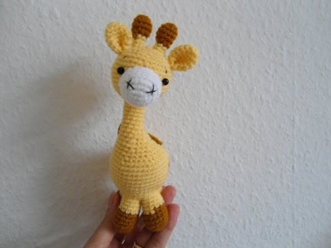 How To Crochet Little Giraffe Youtube
