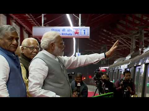 PM Modi inaugurates Delhi-Ghaziabad-Meerut Regional Rapid Rail Transit in Ghaziabad, UP | PMO