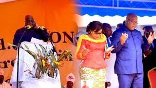 L'intégralité Du Mot Du Président Félix Tshisekedi Au Stade Des Martyrs Je Ne Lâcherai Pas La RDC