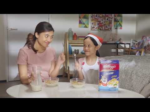 Make Mornings Merrier with Kellogg's! [Philippines]