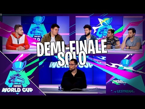 Fortnite World Cup | Demi-Finale Solo - Semaine #1