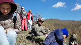 Майские путешествия по Хакасии. Река Белый Июс / Видео