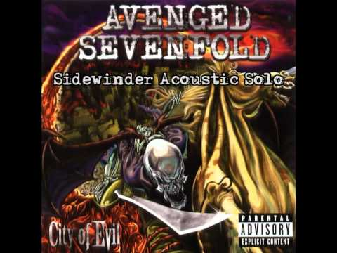 avenged sevenfold sidewinder acoustic solo youtube. Black Bedroom Furniture Sets. Home Design Ideas
