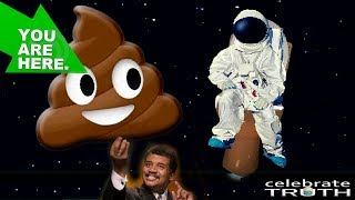 💩 YOU ARE SPACE POOP! Big Bang Science Lies | Flat Earth