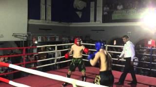 Noc bojovníků Opava 24. 4. 2016 Milan Pouba 1. kolo