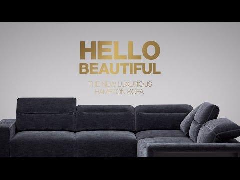 The Luxurious Modular Hampton Sofa By BoConcept