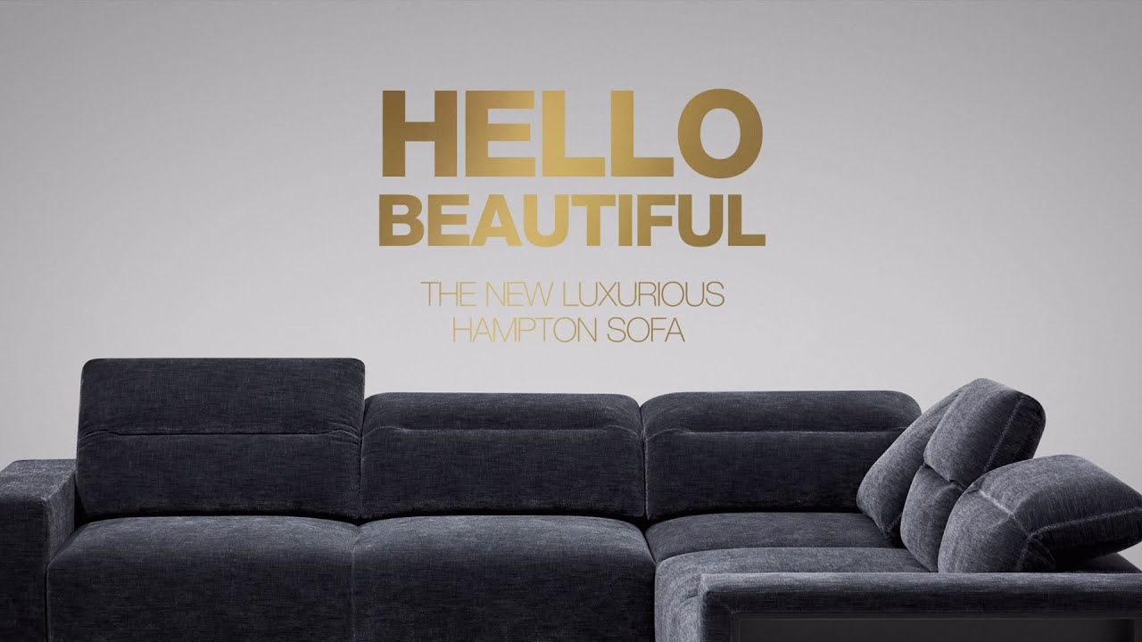 The Luxurious Modular Hampton Sofa By BoConcept