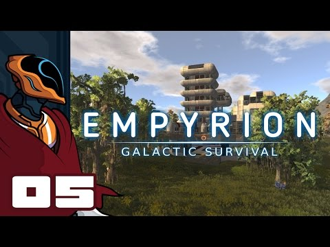 Let's Play Empyrion: Galactic Survival - Gameplay Part 5 - Sniping Is Boring!