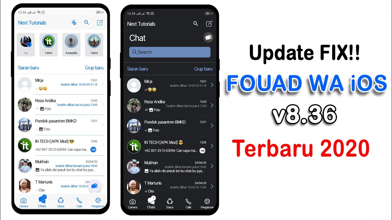Anti Expired || Fouad WhatsApp iOS v8.36 For Android - YouTube