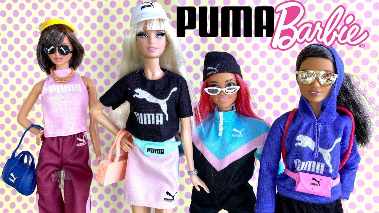 lot puma barbie