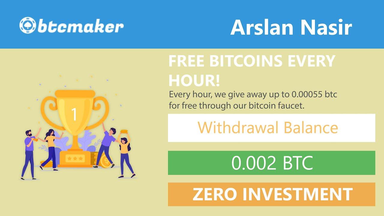 Btcmaker.io - Bitcoin Faucet New Free Bitcoin Earning Site 2020 ...
