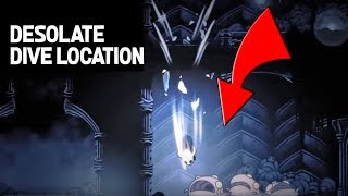 Hollow Knight How- to Find the Desolate Dive Spell and Nail Upgrade- Step by Step Guide