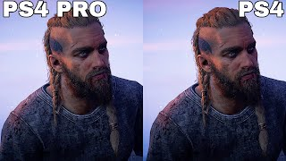 [4K] Assassin's Creed Valhalla - PS4 vs PS4 Pro Frame Rate Test & Graphics Comparison Analysis