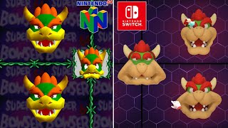Mario Party Superstar Comparison of the Minigames with the Originals