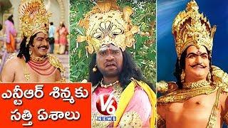 Bithiri Sathi Ravana Getup   Sathi Wants A Role...