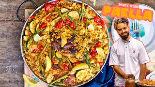 EPIC MEATY VEGAN PAELLA RECIPE... sorry Spanish friends ???