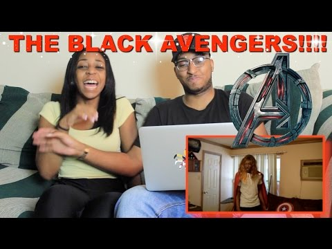 Couple Reacts : 'The Black Avengers' By RDCworld1 Reaction!!!