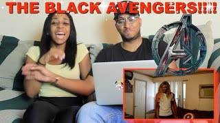 "Couple Reacts : ""The Black Avengers"" By RDCworld1 Reaction!!!"