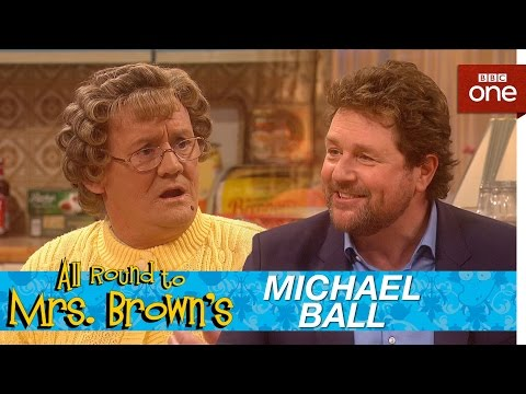 Michael Ball serenades Mammy in the kitchen - All Round to Mrs Brown's: Episode 6 - BBC One