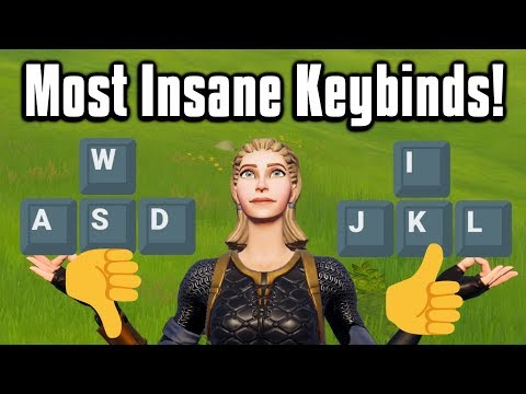 I Found The CRAZIEST Keybinds In Fortnite! - My New Keybinds!
