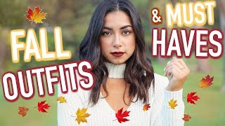 Fall Outfits & Fall Must Haves! Fall 2017